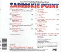 Zabriskie Point Original Soundtrack On Cd Steve